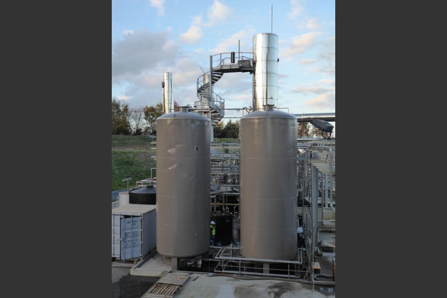 Traitement anticorrosion sur silos metalliques